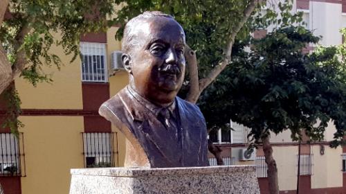 Un busto para Cayetano Roldán